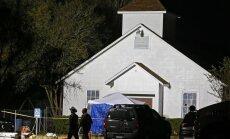 Izmeklētāji: Teksasas šāvējs savā auto izdarījis pašnāvību