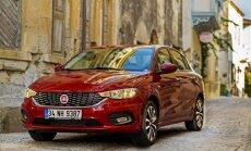 Jaunais 'Fiat Tipo' izraudzīts par praktiskāko Eiropas automobili
