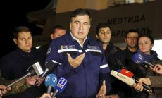 Gruzijā sāk izmeklēšanu par Saakašvili it kā plānotu apvērsumu