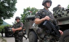 Slovēņu kreisie mēģina apturēt karavīru nosūtīšanu uz Latviju