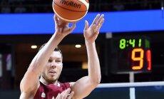 Dairis Bertāns gūst 10 punktus Eirolīgas spēlē Belgradā