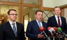 Valdība skatīs nodokļu reformas pamatnostādnes arī bez 'Vienotības' atbalsta, paziņo Kučinskis