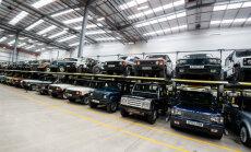 'Jaguar Land Rover' pārvietos daļu ražošanas no Lielbritānijas uz Slovākiju