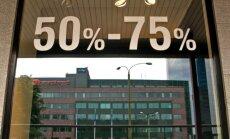 Latvijā jūnijā bijusi sestā lielākā gada deflācija ES