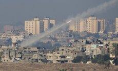 Izraēlā trāpa no Gazas joslas izšauta raķete