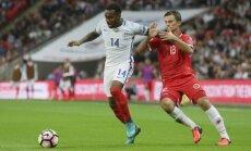 Anglijas futbola izlase uzvar pirmajā mačā Sautgeita vadībā