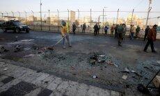 Bagdādē pašnāvnieku uzbrukumos nogalina vairākus desmitus cilvēku
