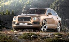 'Bentley' apvidnieki izpārdoti turpmākajam gadam; pirmo saņems karaliene