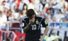 Mesi uzņemas atbildību par neizcīnīto uzvaru pār Islandi
