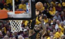 'Cavaliers' neatstāj variantus 'Raptors' un sasniedz NBA pusfinālu