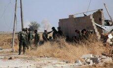 Sīrijas režīma spēki ar Krievijas gaisa atbalstu turpina uzbrukumu Alepo