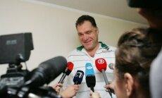 Saboni atkārtoti ievēl Lietuvas Basketbola federācijas prezidenta amatā