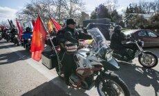 Krievijas motociklistiem braucienā caur Poliju uz Berlīni piebiedrosies arī autorallijs