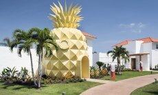 Kad multfilma pārtop realitātē: Sūkļa Boba ananasu namiņš Dominikānas Republikā