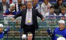 Pēc Slovēnijas izkrišanas no elites divīzijas atkāpjas galvenais treneris