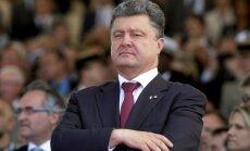 Porošenko: Krievija saprot, ka karu neuzvarēs