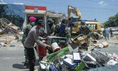 Indonēzijas salu Lomboku satricina vēl viena zemestrīce