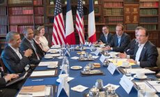 G8 valstis aicina pēc iespējas ātrāk noorganizēt Sīrijas miera konferenci