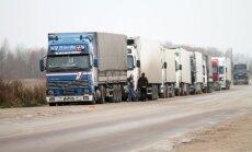 Rindā Terehovā gaida 330 kravas auto