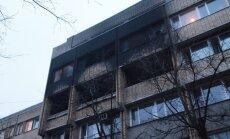 Ķuzis: nav pierādījumu, ka policijas ēka Stabu ielā aizdedzināta ļaunprātīgi