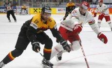 Vācijas hokeja izlases kandidātu sarakstā olimpiskajai kvalifikācijai Rīgā iekļauti septiņi NHL spēlētāji