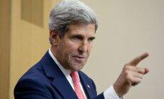 Kerijam neizdodas panākt Izraēlas un palestīniešu 'bāzes vienošanos'