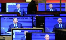 Krievijas telekanālu izplatītāji Lietuvā koriģē raidījumu saturu