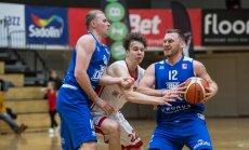 'Jūrmalas' un 'Ogres' basketbolisti tiek pie uzvarām BBL mačos