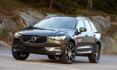 'Volvo' prezentējis jauno 'XC60' apvidnieku