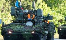 Foto: Uz lielākajām militārajām mācībām Latvijā steidz sabiedroto spēki