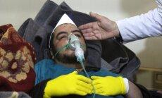Krievija nosoda ANO rezolūcijas projektu par ķīmisko ieroču lietošanu Sīrijā