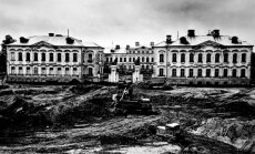 Foto: Rundāles pils restaurācija 50 gadu laikā