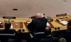 Krievija traucē izmeklēt ķīmiskos uzbrukumus Sīrijā; jau 10. reizi bloķē ANO rezolūciju