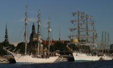 'The Tall Ships Races' laikā varēs apskatīt Rīgas ostu