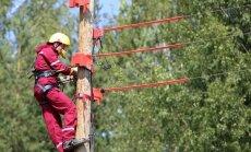 Гроза оставила без электричества 1270 домашних хозяйств в Латгале