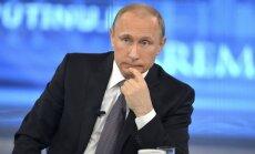 'ASV ir kā PSRS – bez naudas un draugiem': 5 Putina preses konferences spilgtākie dzēlieni Vašingtonai