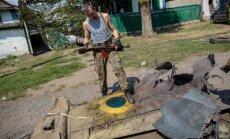 Ukrainas iznīcinātāji trešdien, iespējams, notriekti no Krievijas teritorijas