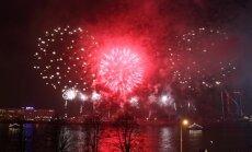 Krievijas tūristu skaits uz Jaunā gada svinībām Latvijā samazinājies par 70%