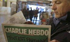 'Charlie Hebdo' traģēdija: LU SZF notiks diskusija par vārda un mākslinieka izpausmes brīvību