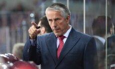 Latvijas hokeja izlase zaudē Slovākijai arī otrajā pārbaudes spēlē