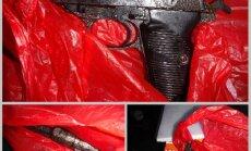 Rīgā par nelikumīgu šaujamieroču pārvadāšanu aiztur vīrieti