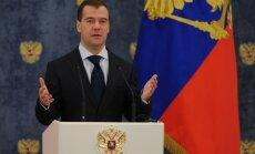 Medvedevs: Krievija nevar izturēties vienaldzīgi pret Eiropas pretraķešu aizsardzības plāniem