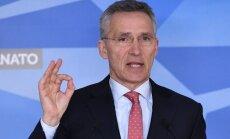 NATO ģenerālsekretārs pauž atbalstu Rietumvalstu veiktajiem raķešu triecieniem Sīrijā
