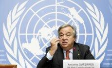 Новый генсек ООН призвал к распределению беженцев по странам мира