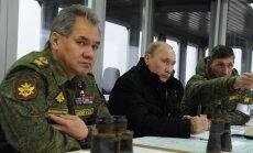 Путин объявил внезапную проверку боеготовности Вооруженных сил России