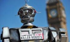 Eksperti aicina ANO aizliegt 'robotus slepkavas'