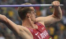 Latvijas šķēpmetēji nespēj iekļūt Rio olimpisko spēļu finālā