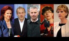 """В российском """"черном списке"""" — пятеро латвийских политиков"""