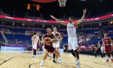 Latvijas basketbola izlase pirms PK kvalifikācijas pārbaudes spēlē tiksies ar Krieviju