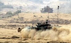 Fotoreportāža: Indijas un Krievijas kopīgās militārās mācības